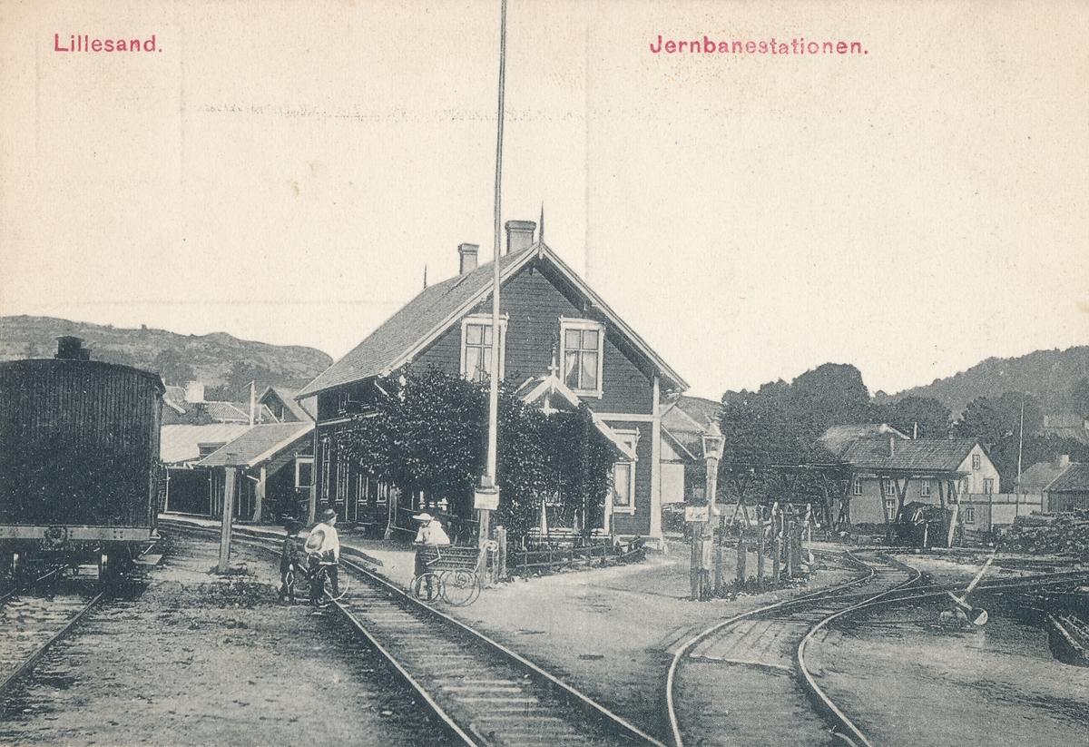 Lillesand stasjonsbygning
