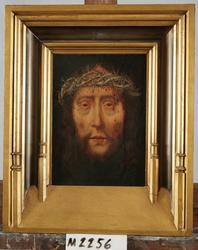 Kristus med törnekrona [Oljemålning]