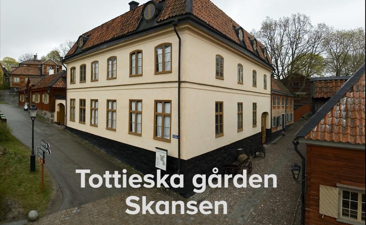 Dokumentation av arbetet med att renovera Tottieska gården på Skansen mellan åren 2013-2016.