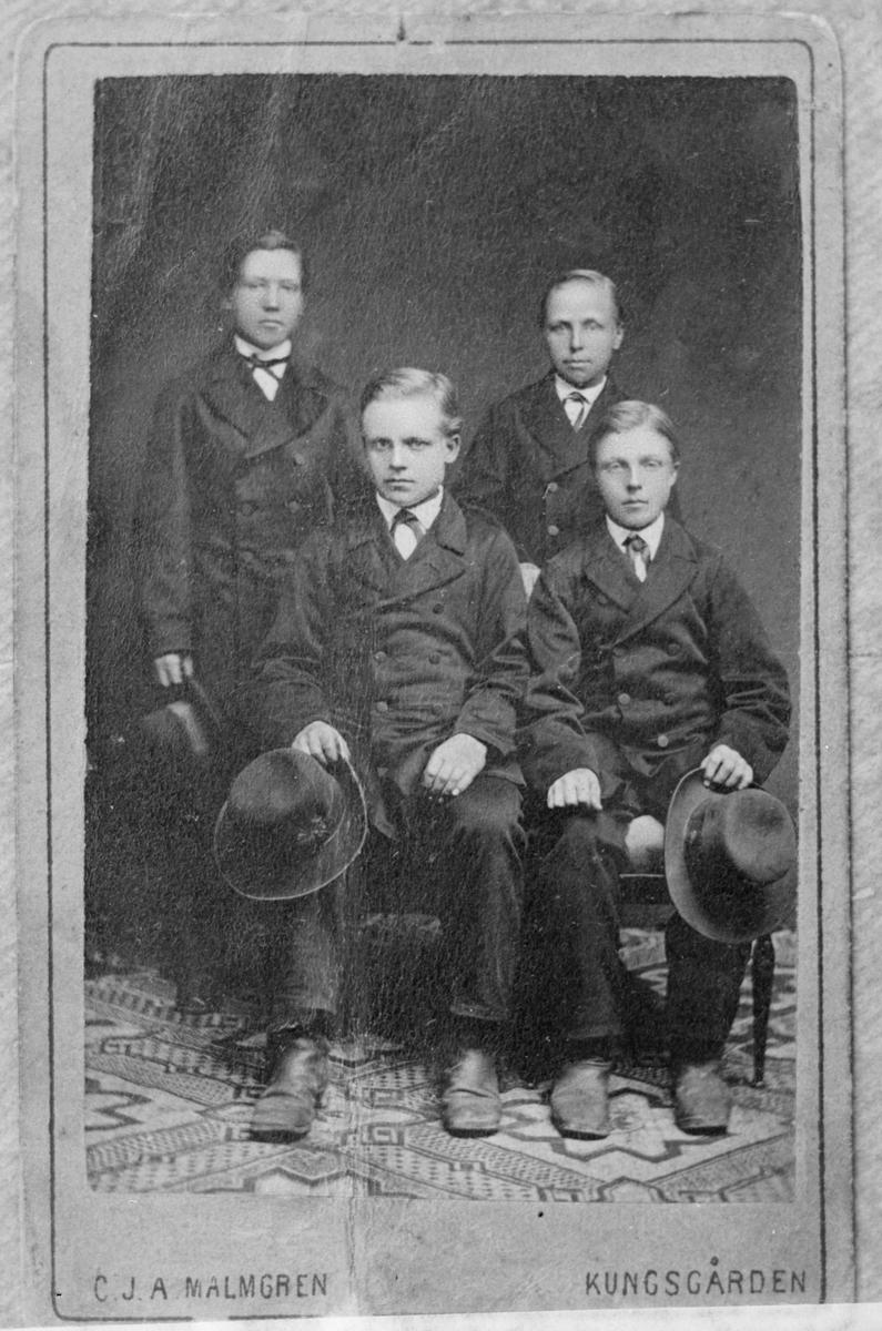 Fyra män