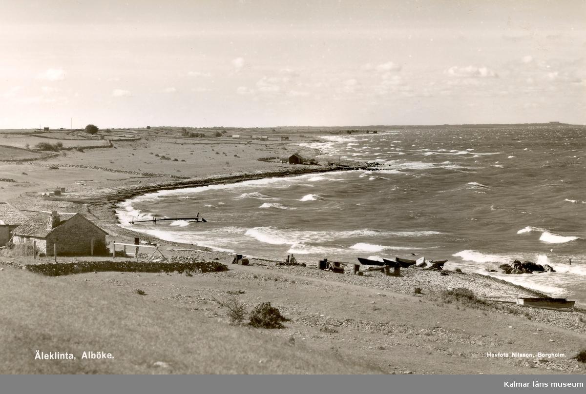 Stranden i Äleklinta.