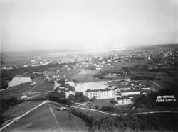 Vy över I 14 vid Kungsbäck. (omkring 1916)