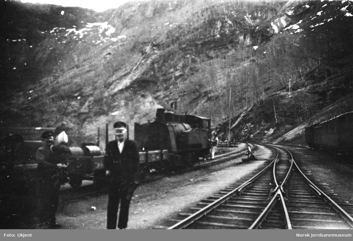 Sjønstå stasjon - skifting