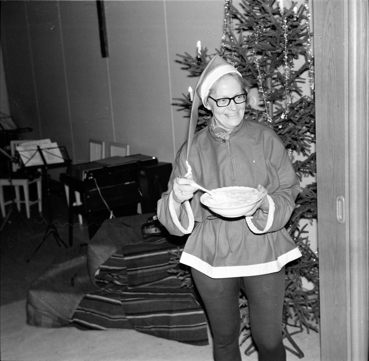 Arbrå, Grötfesten i sockenstugan, Januari 1969