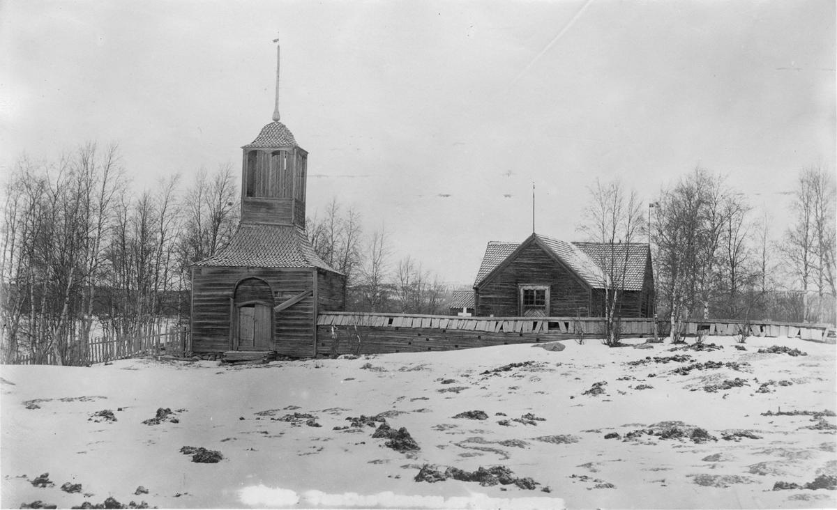 Gällivare gamla kyrka, även kallad Lappkyrkan.