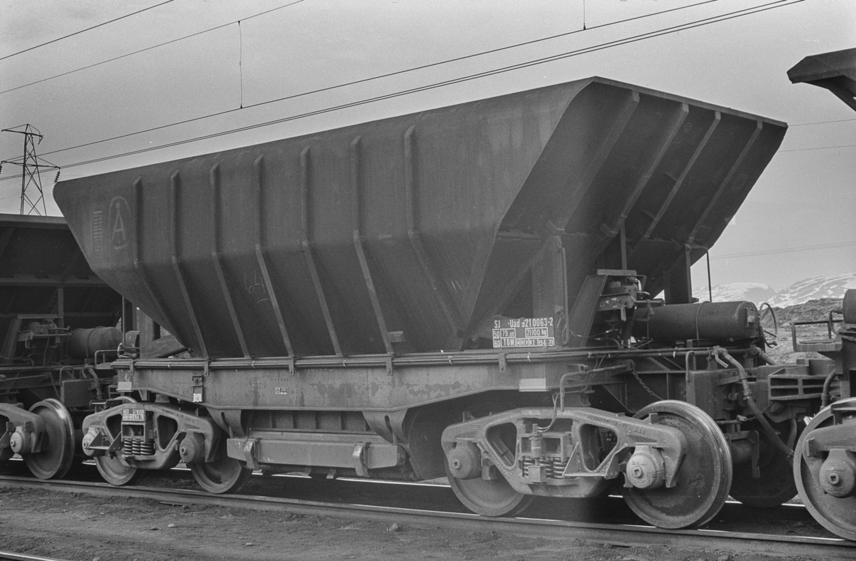 Malmvogn litra Uad for transport av malm mellom Kiruna og Narvik.