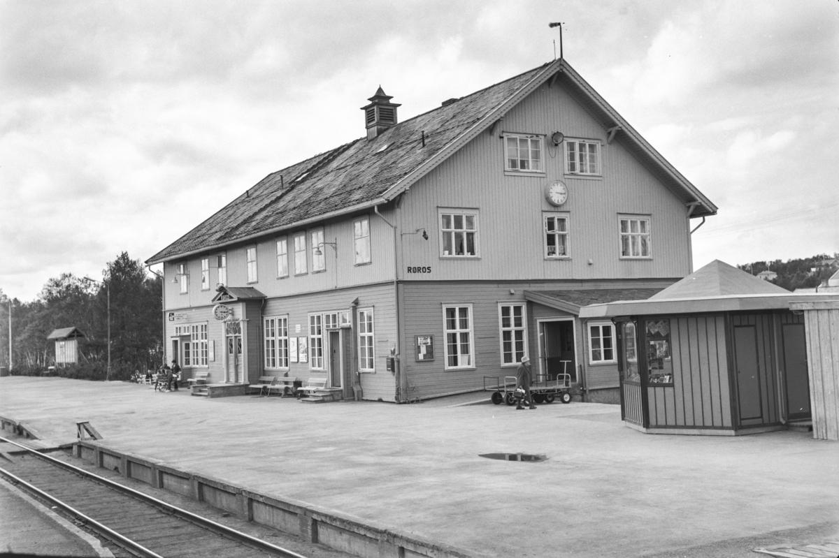 Røros stasjon på Rørosbanen.
