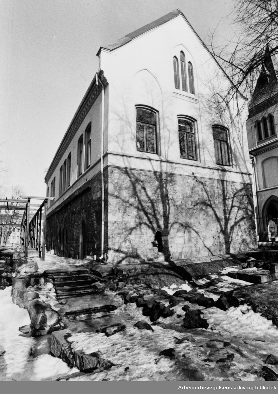 Bispegården. Mars 1984