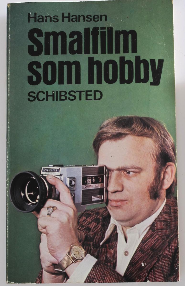 Mann med filmkamera