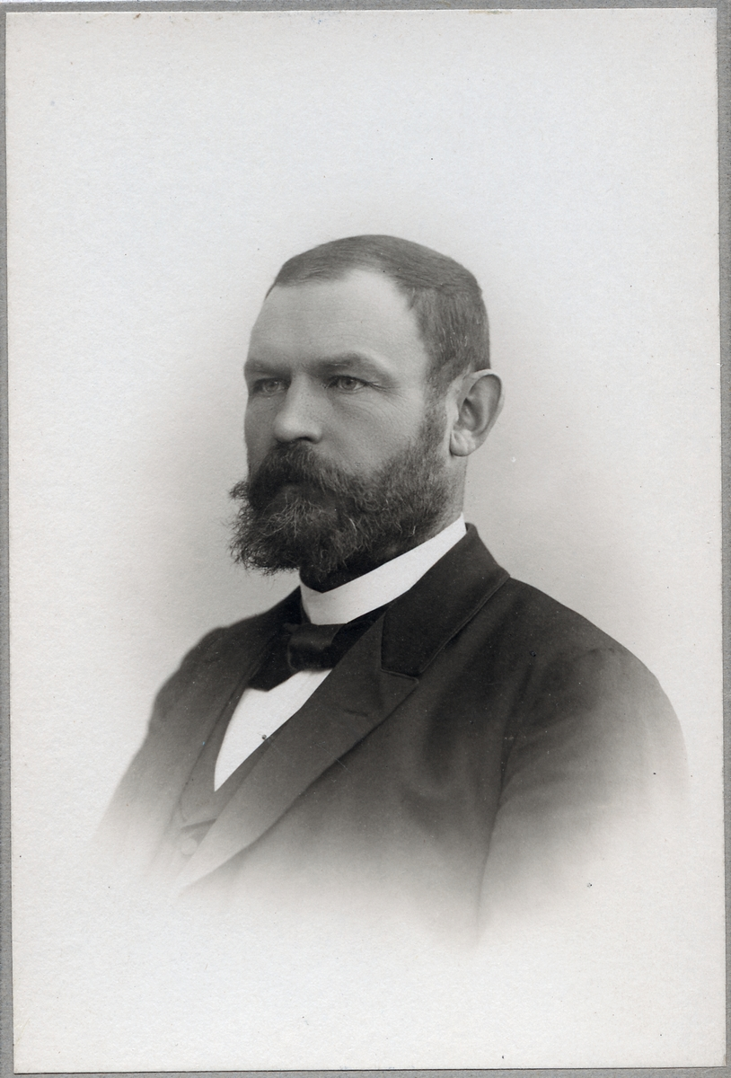 Erik Kristian Bergström, distriktschef.