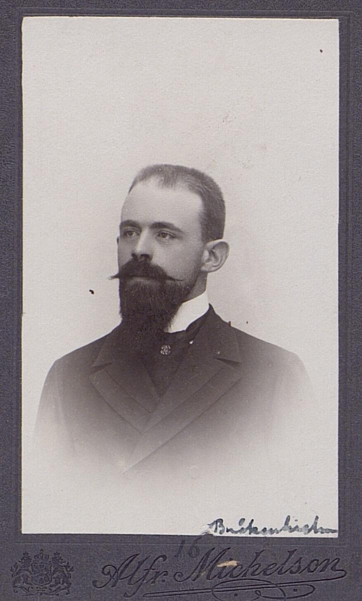 Richard Bråkenhielm, 1870-1931, amanuens i telegrafstyrelsen 1901-1908.