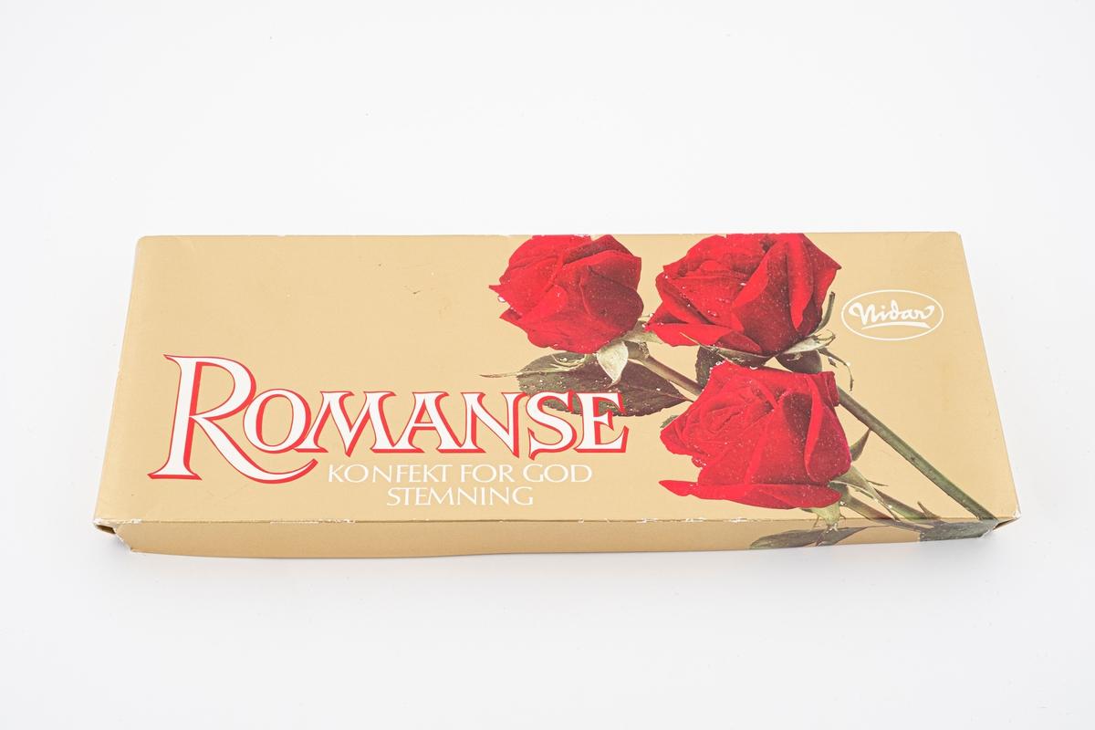 Tre røde roser.
