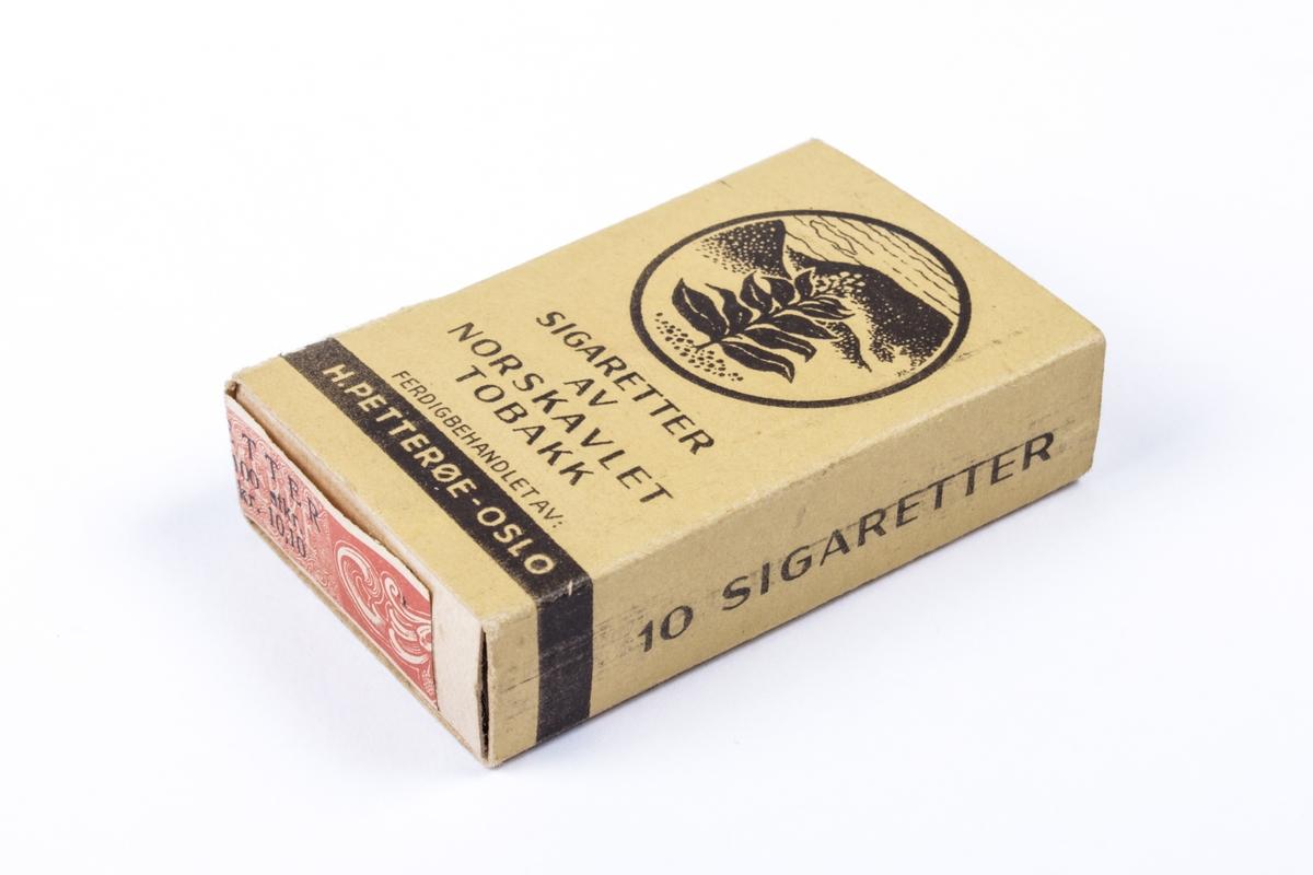 Uåpnede sigarettesker