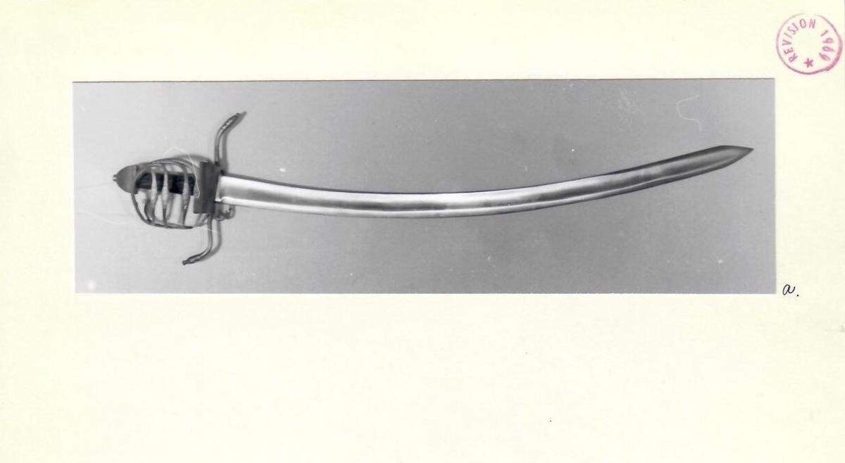 Jakobsen type C. Glatt klinge, bred hulsliping.