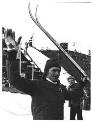 """""""Kollen"""". 50 km. Nr. 1. Sven-Åke Lundbäck"""