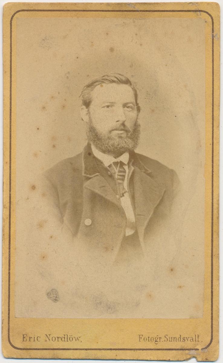 Portrett av ung mann, ukjent. Ant. svensk.