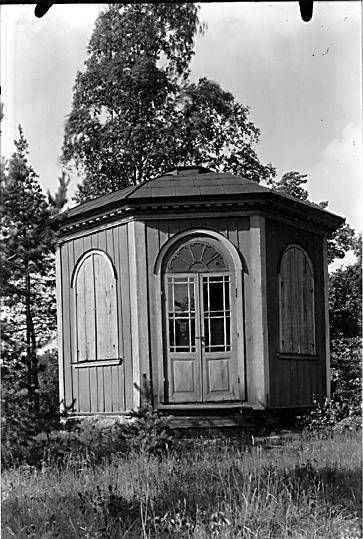 Lusthuset på Gideonsbergs herrgård i Västerås.