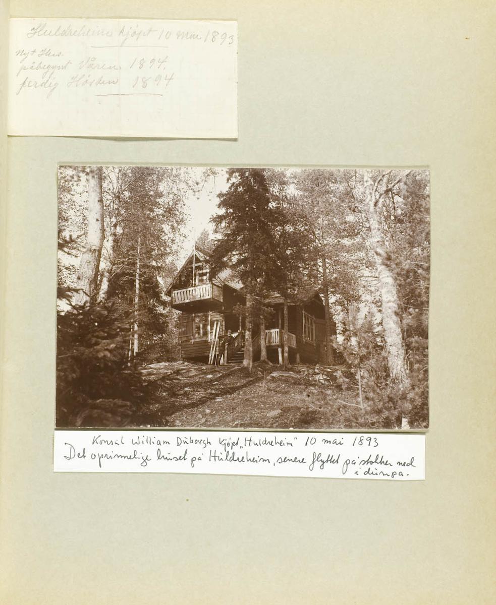 """Første """"Huldreheim"""""""