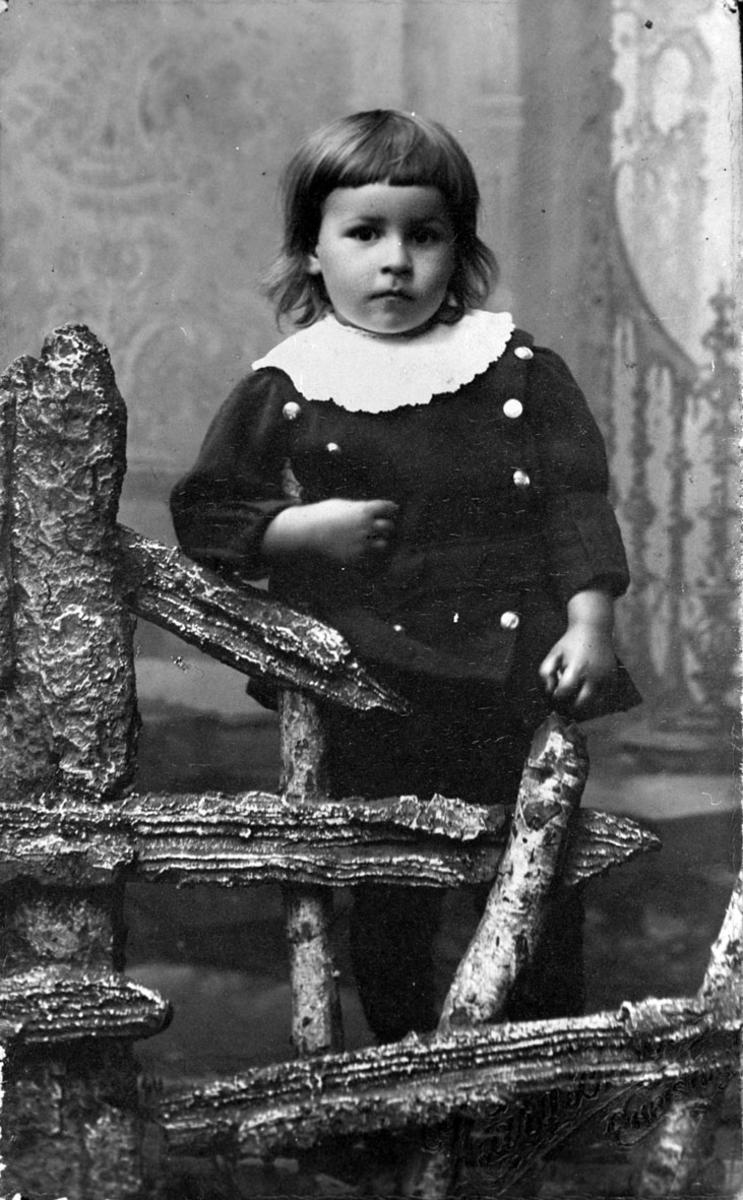 Rolf Jensen 3 år gammel.
