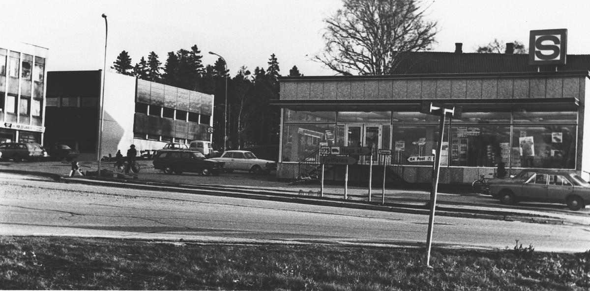 Forretningsbygg, Samvirkelaget i Årnes