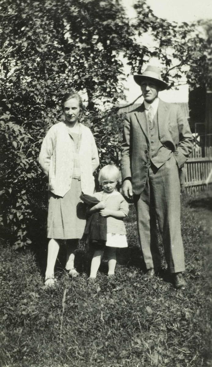 Familiebilde fra ca. 1932
