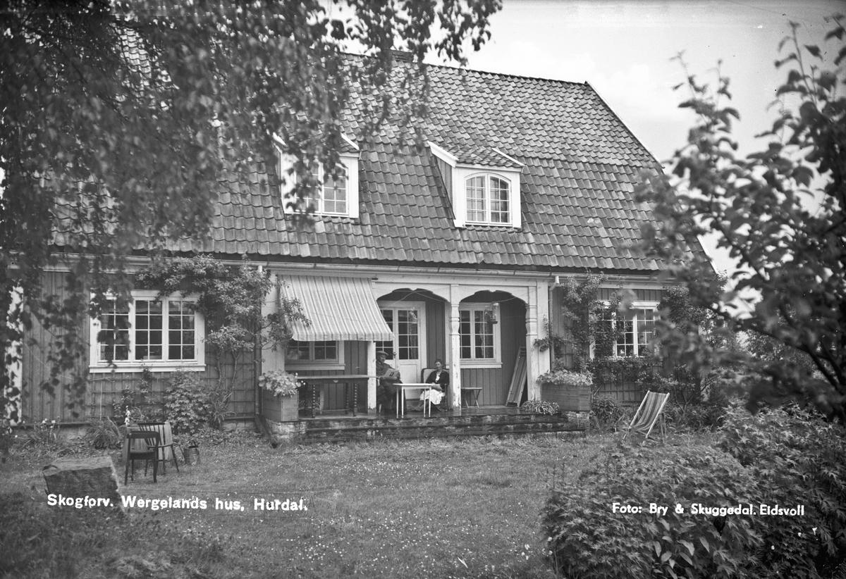 Skogforvalter Wergelands hus, Hurdal.