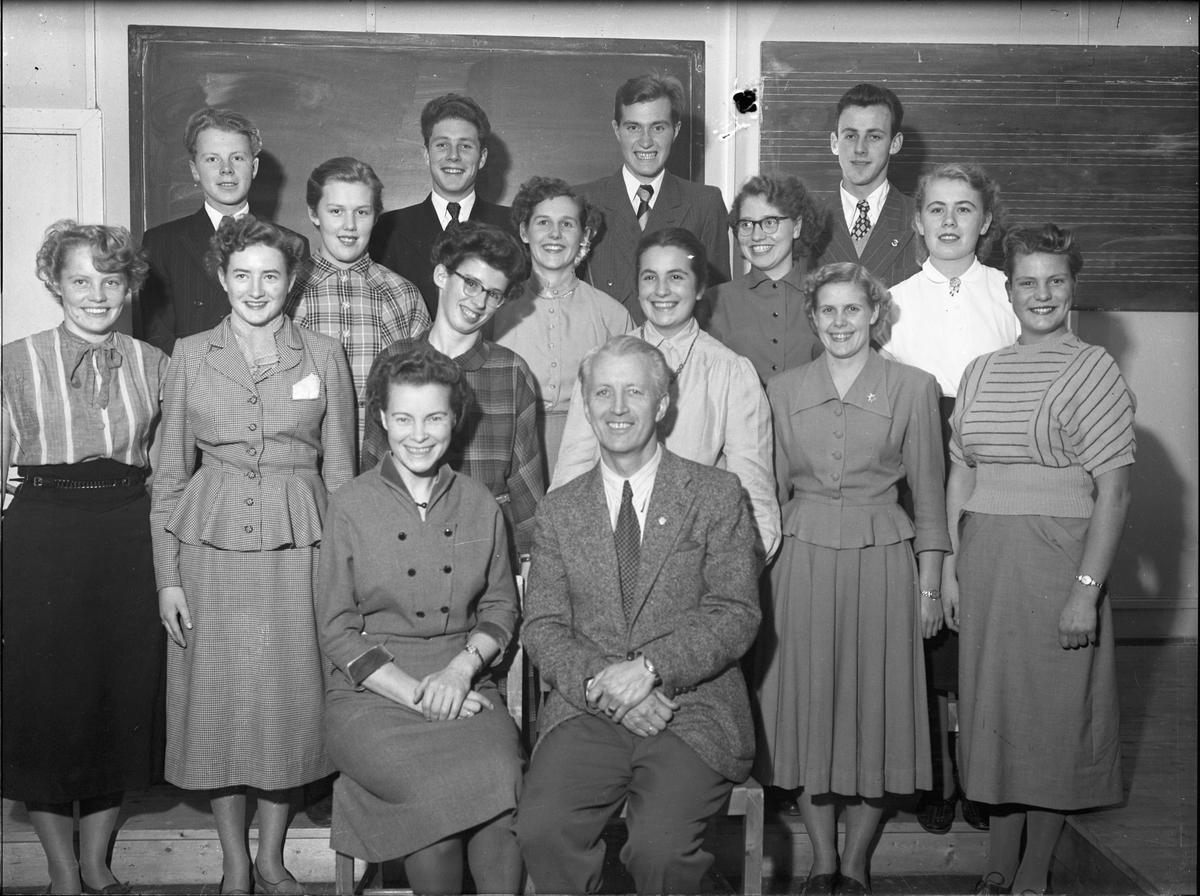 Lærere ved Romerike Fylkesskole.