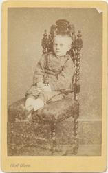 Portrett, Karl Arnt Brodtkorb, 1874