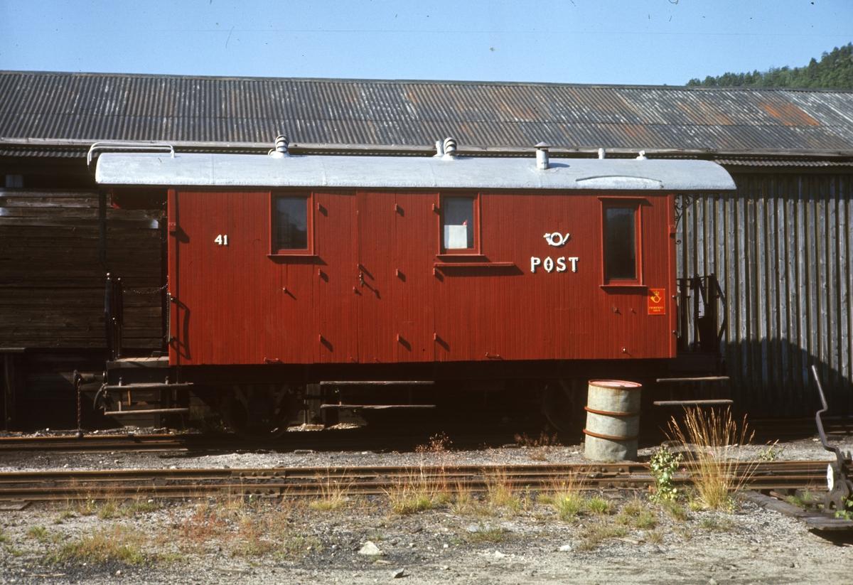 Setesdalsbanens konduktørvogn F41