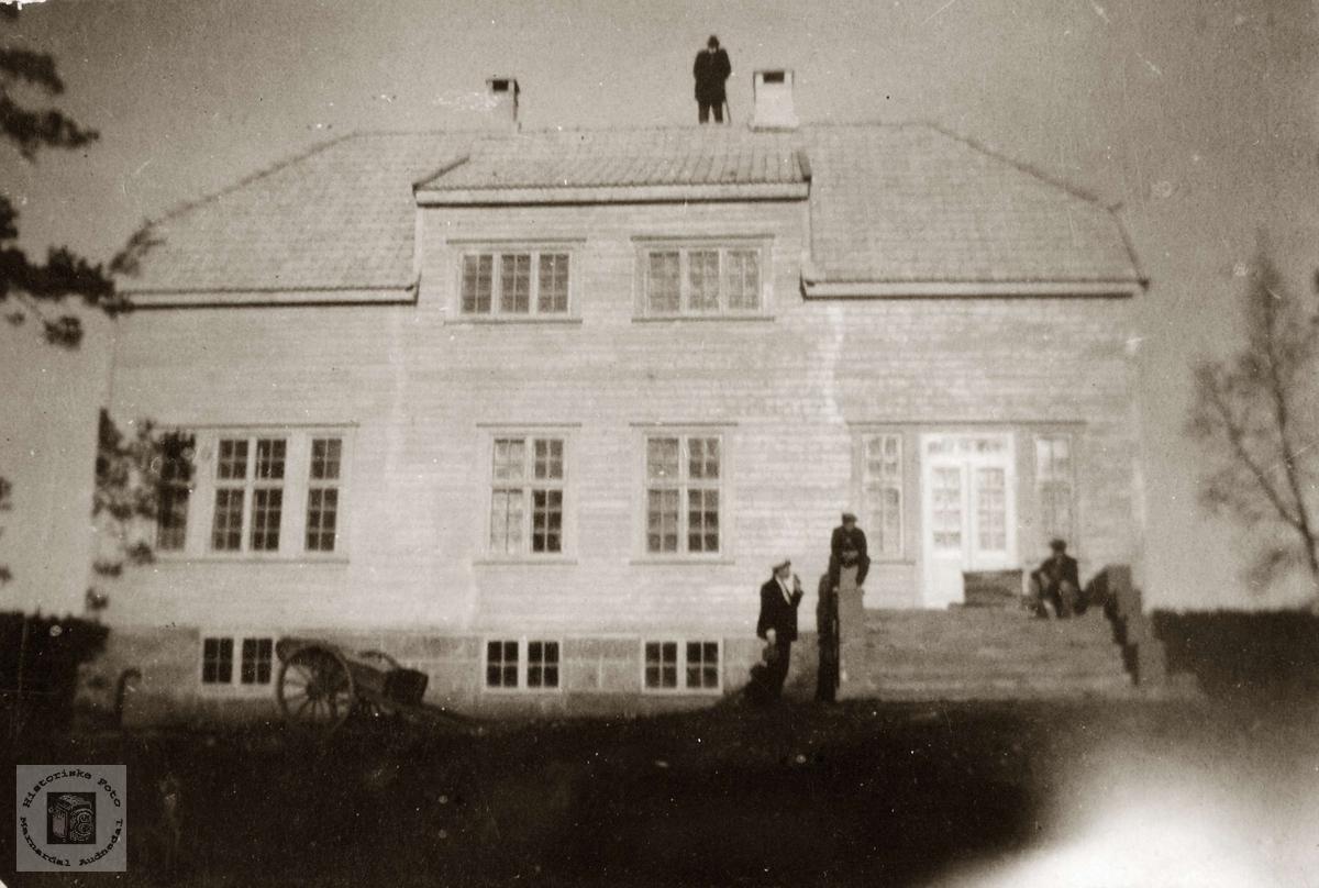 Doktorboligen på Sveindal. Grindheim Audnedal.