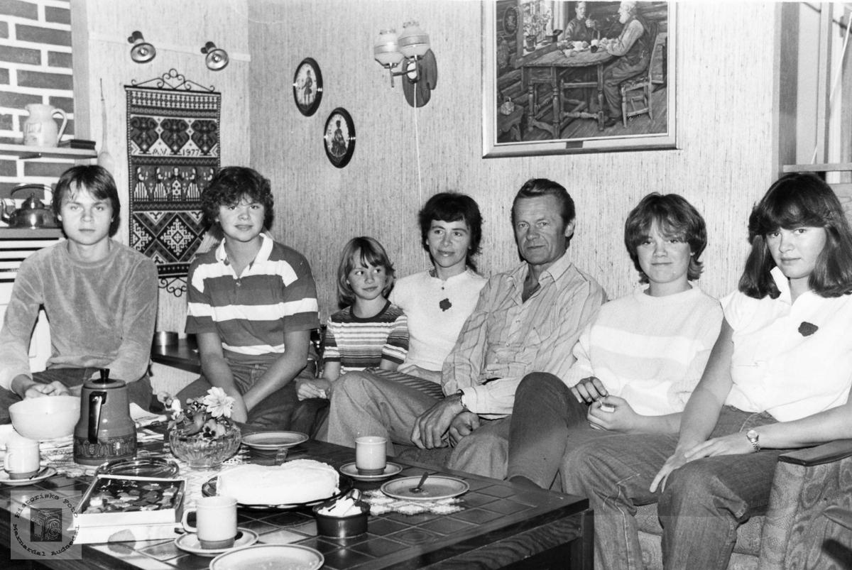 Familien Verdal. Audnedal.