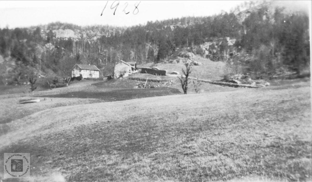 Gården Regevik ved Manflåvann