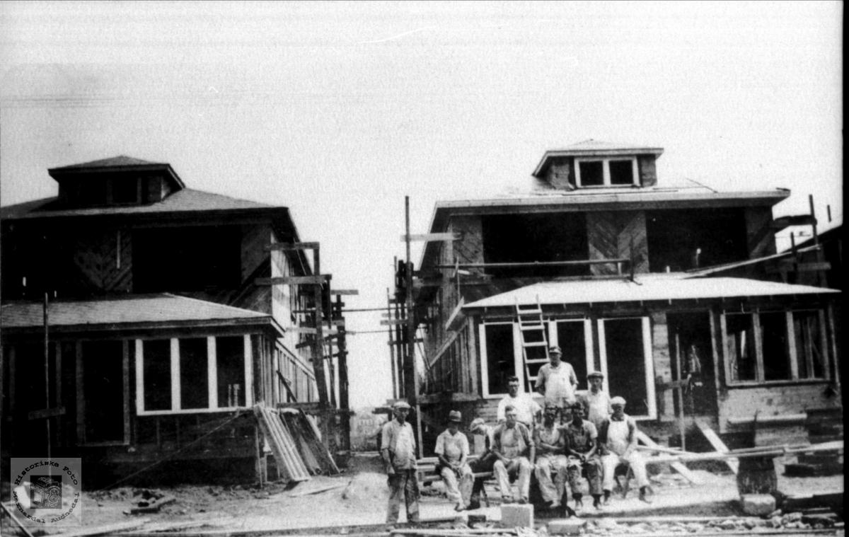 Byggeplass i USA.