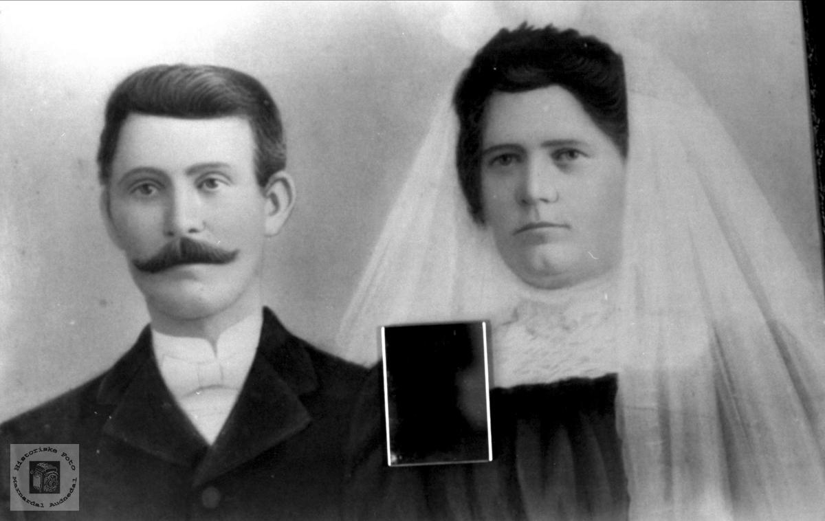 Brudeparet Øislebø, Øyslebø.