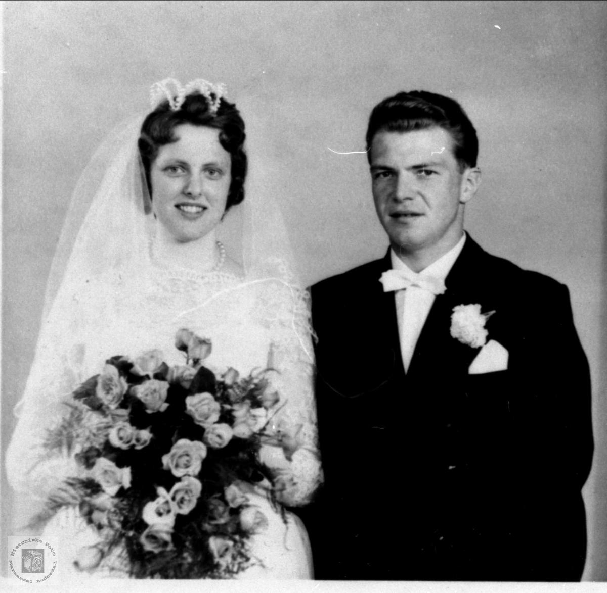Ekteparet Nancy Jorun og Bjørn Eikså, Øyslebø.
