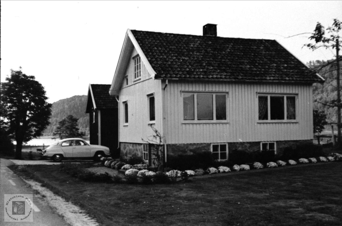 Hagen, Øyslebø, heimen til Randi og Jens Rustad.