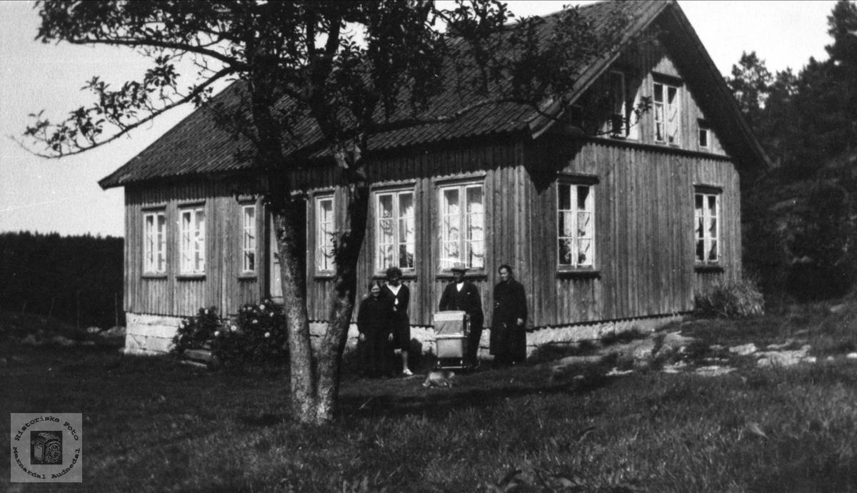 På Kvasshammer i Øyslebø.