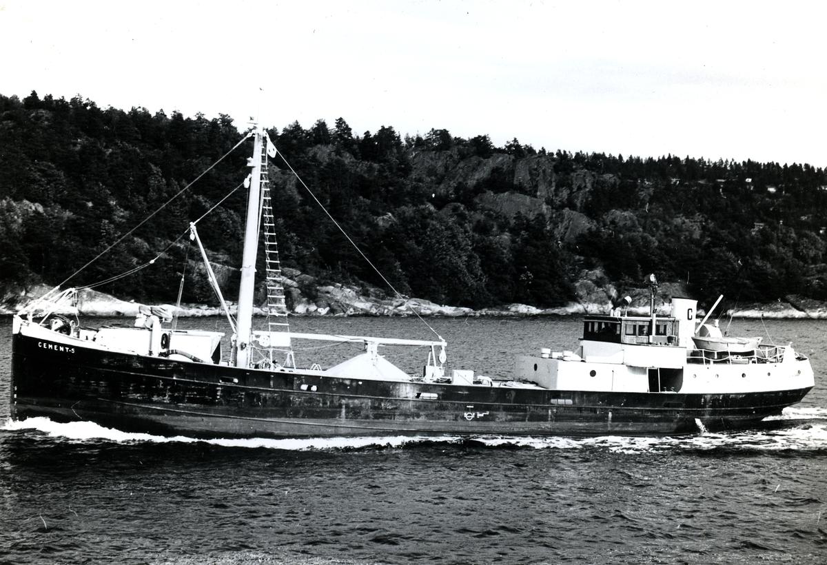 M/S Cement 5 Ex. D/S, Wasab.1901, Torskogs mek. Verkstad, Torskog   Norsk Maritimt Museum ...