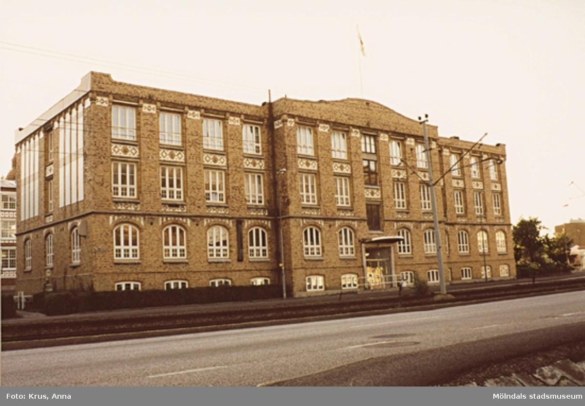 Kängurun 18. Krokslätts fabriker. Kontor från sydost.