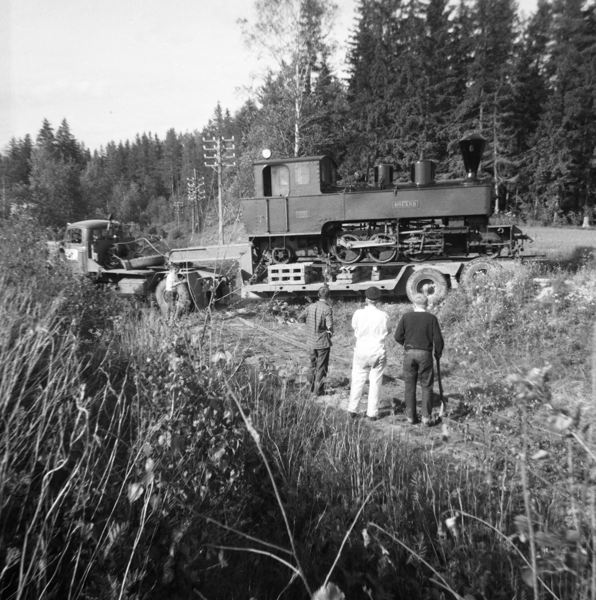 Lok 6 Høland flyttes til museumsbanen