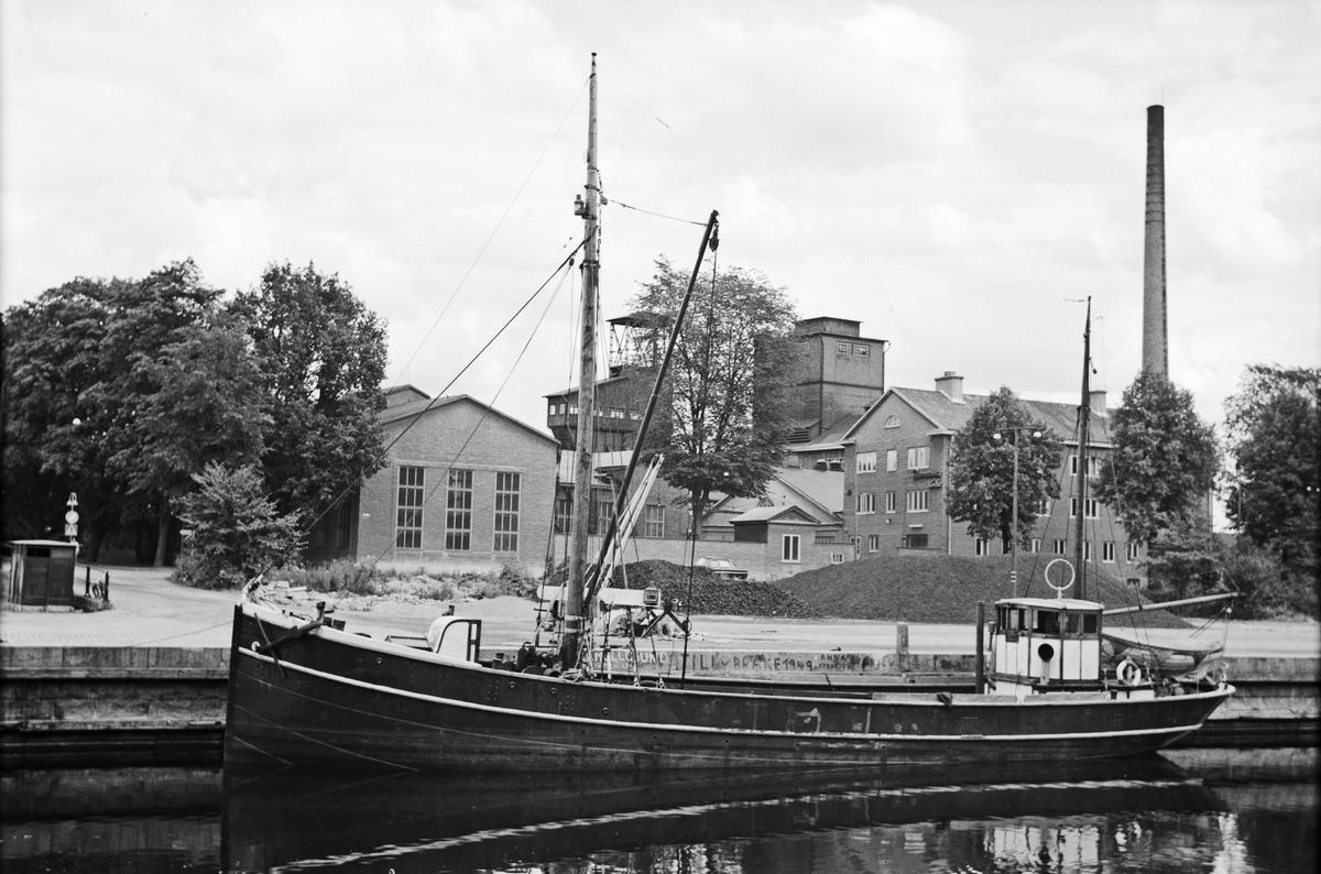 Fartyg: VIKING                         Bredd över allt 5,03 meter Längd över allt 23,89 meter Reg. Nr.: 8263 Byggår: 1903 Övrigt: VIKING ex STETTIN, byggd i Papenburg. Fartyget har identifierats av Henry Jansson i april 2012.
