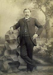 Spelemannen Hans Hansson Flatland (Vesle-Hans). I Amerika br