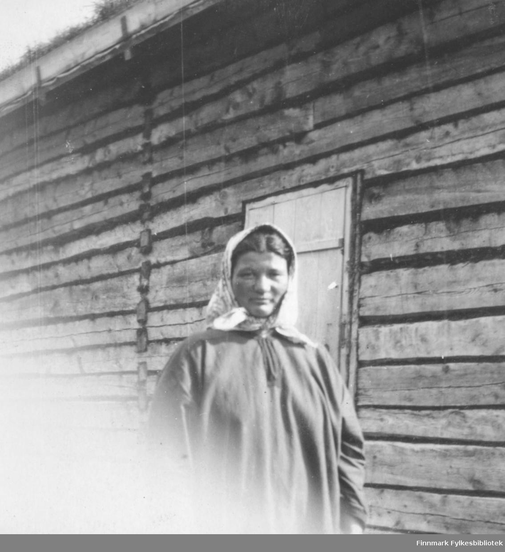 Fjellstuekona på Nedre Ness juli 1917.