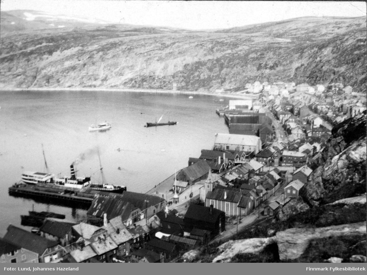 Hurtigruta 'Mira' ved dampskipskaia i Hammerfest