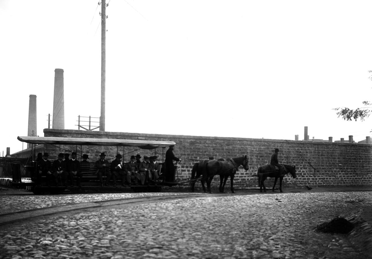 Baku: Naftabolagets spårvagn.