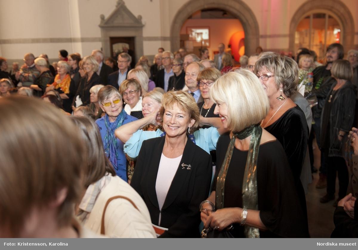 """Rosa Taikon vernissage på Nordiska museet """"Smycken av Rosa Taikon"""""""