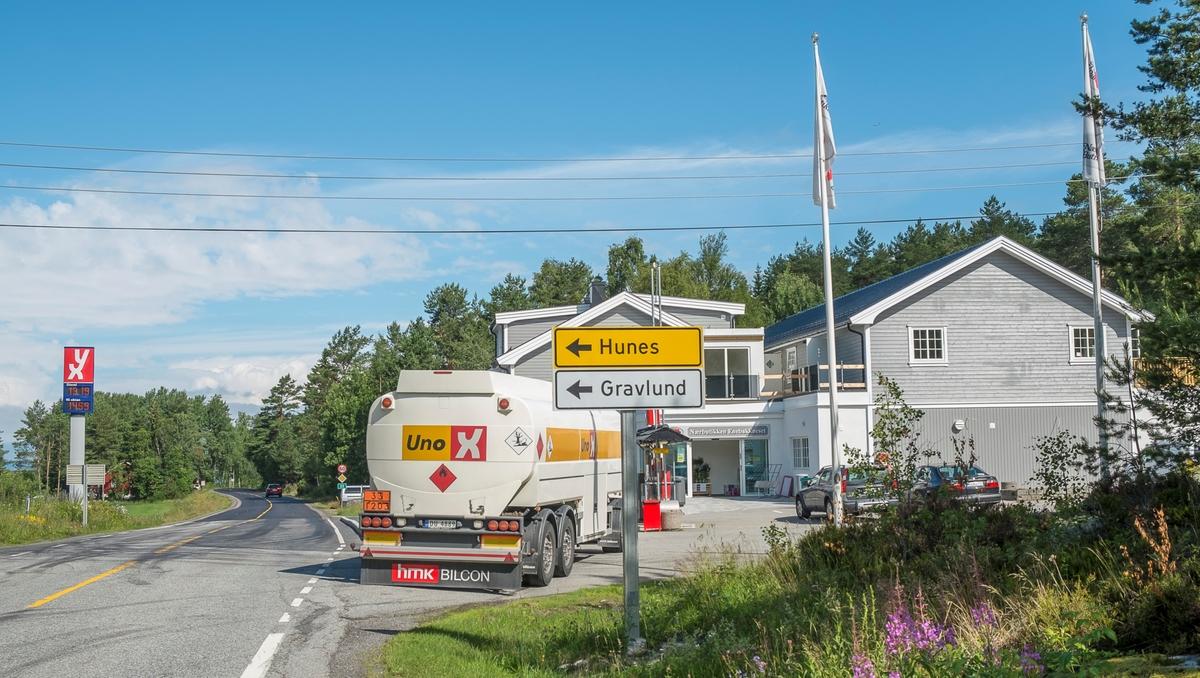 YX bensinstasjon Fetveien Enebakkneset Fet