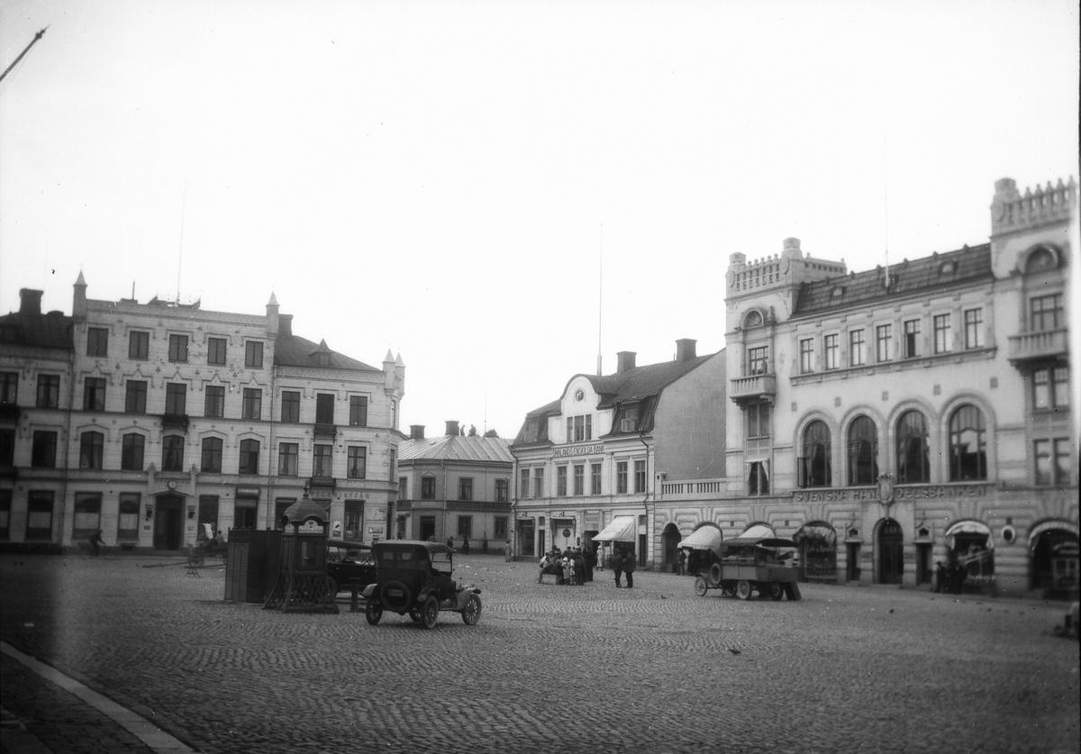 Lilla torget i Oskarshamn.