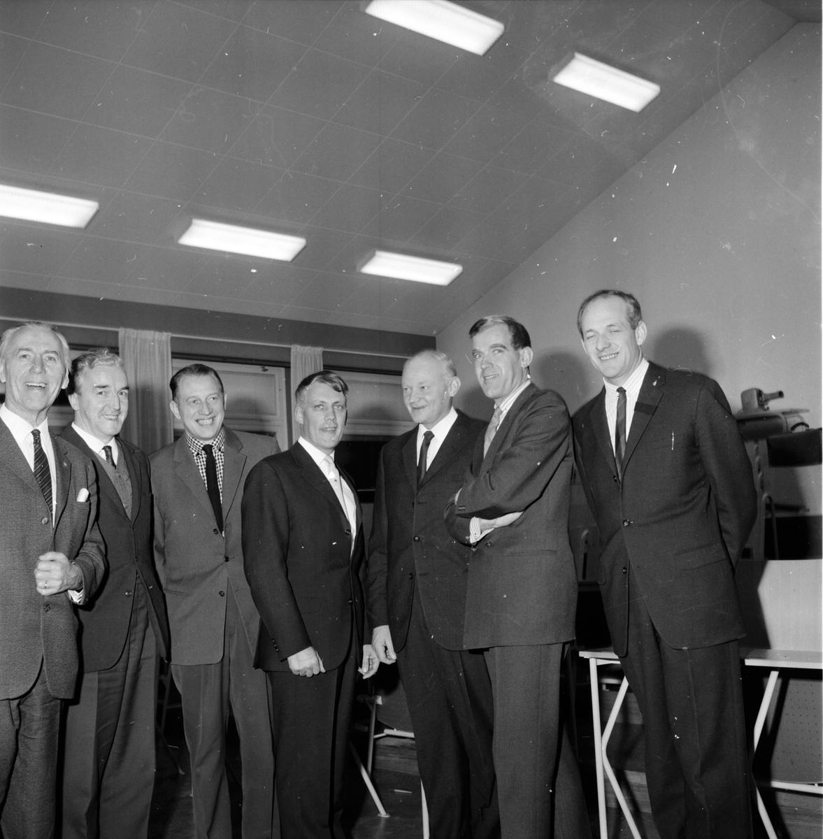 Ungdomskonferens i Bollnäs, Ungdomsstyrelsen, 4 December 1964