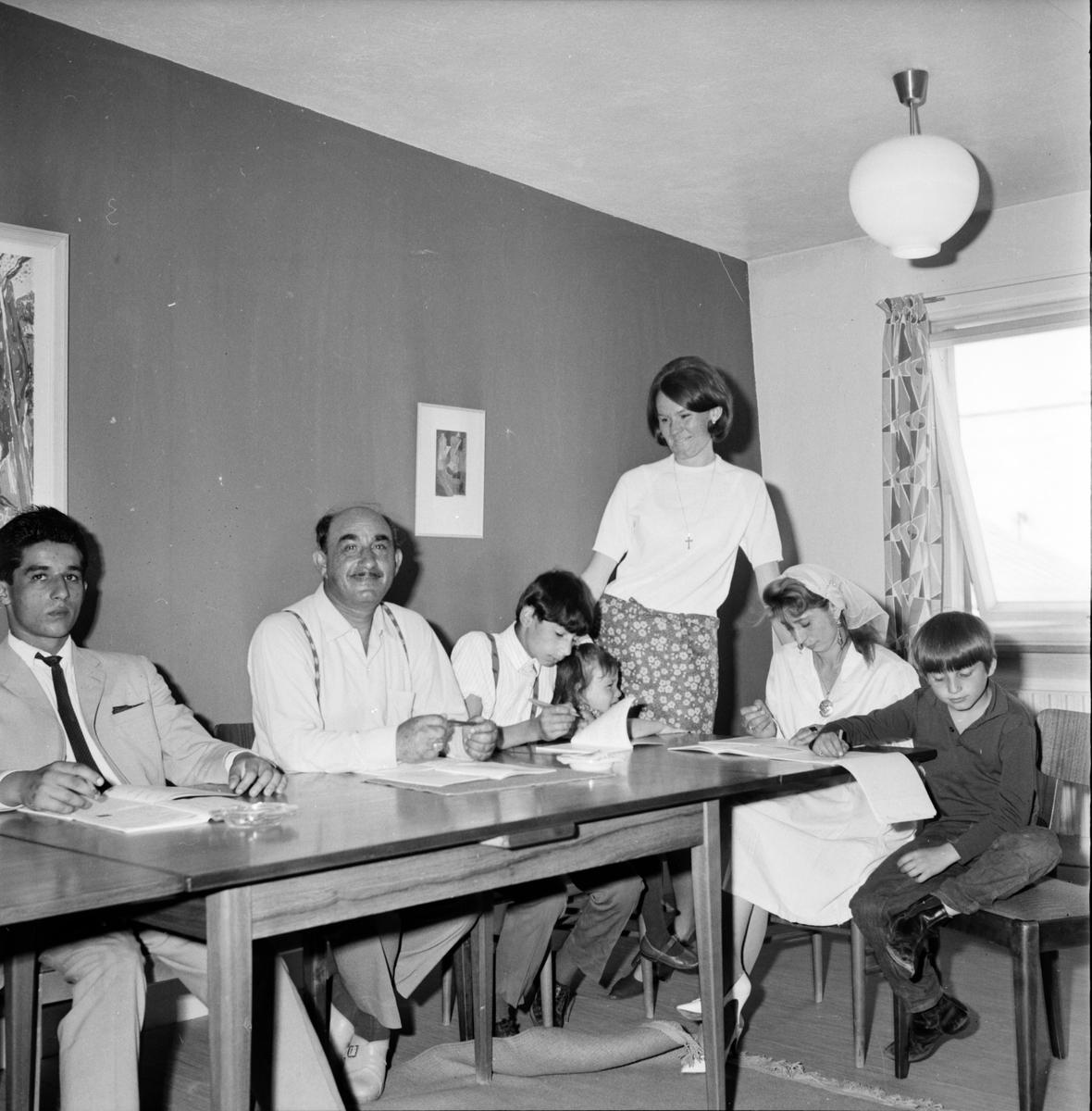 Zigenarskola avslutning. 14/6-1966